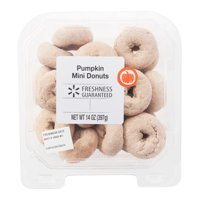 Freshness Guaranteed Pumpkin Mini Donuts, 14 oz