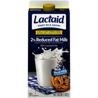 Lactaid 100% Lactose Free Reduced Fat Calcium Enriched Milk