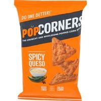 PopCorners Popped-Corn Snack Spicy Queso