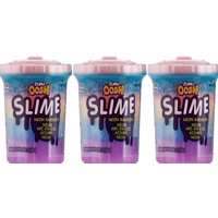 Oosh Slime 3-Pack: Neon and Rainbow Slime 3- pack of 13oz cans(40oz+ of slime)