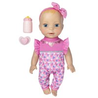 Luvabella Newborn, Blonde Hair, Interactive Baby Doll with Real Expressions and Movement