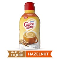 Nestle Coffee mate Hazelnut Liquid Coffee Creamer 64 fl oz.