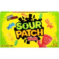 SOUR PATCH KIDS Original Soft & Chewy Candy, 3.5 oz Box