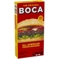 Boca All American Flame Grilled Burgers