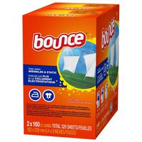 Bounce Dryer Sheets, 2 X 160 ct