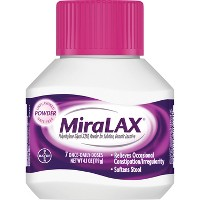 MiraLAX Unflavored Grit Free Laxative Powder - 7 dose