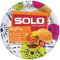 Solo Paper Plates, Heavy Duty, 10 Inch