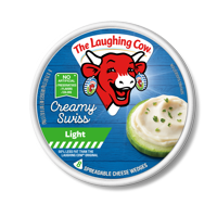 The Laughing Cow Light Spreadable Cheese Wedge