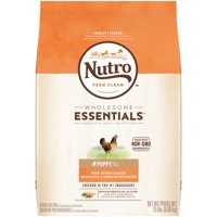 NUTRO WHOLESOME ESSENTIALS Puppy Natural Dry Dog Food, Farm-Raised Chicken, Brown Rice & Sweet Potato Recipe, 15 lb. Bag