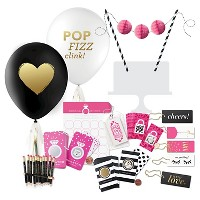 Inklings Paperie® Pink & Black Bridal Shower Collection