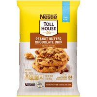NESTLE TOLL HOUSE Peanut Butter Chocolate Chip Cookie Dough 16 oz. Pack