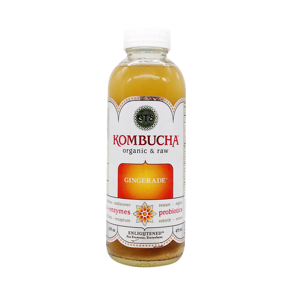 Gt's Kombucha Organic Raw Gingerade Kombucha, 473 ml