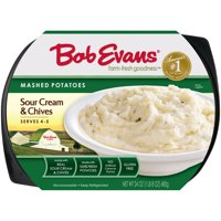 Bob Evans Sour Cream & Chives Mashed Potatoes 24 oz. Tray