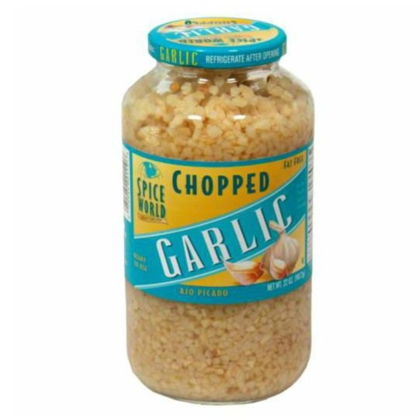 Spice World Chopped Garlic