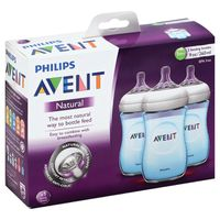 Avent Bottle, Blue Edition, Natural, 9 Ounce, 1 Month+