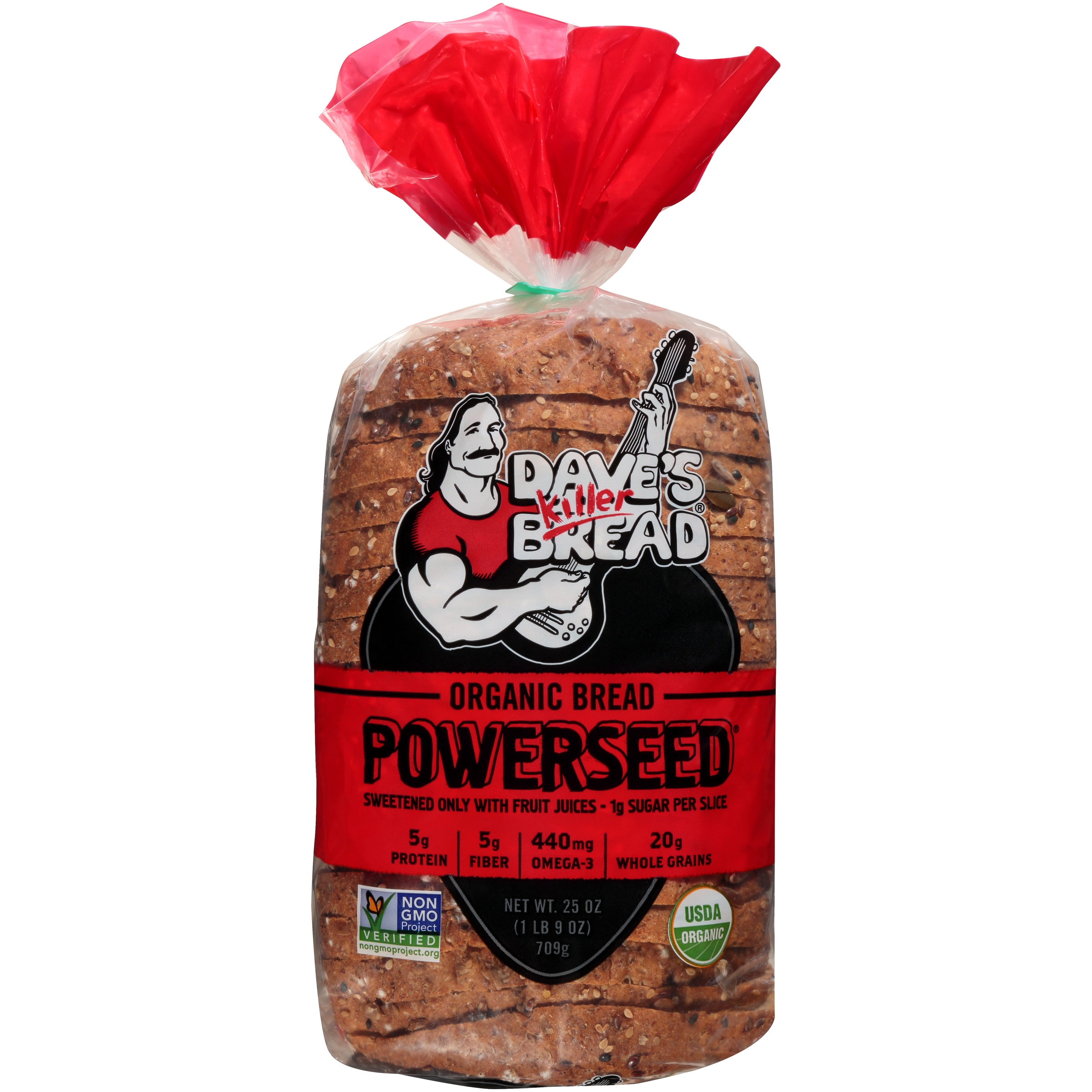 Dave's Killer Bread® Powerseed® Organic Bread 25 oz. Loaf