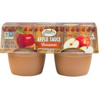 Sprouts Cinnamon Apple Sauce Cups