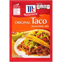 McCormick® Original Taco Seasoning Mix