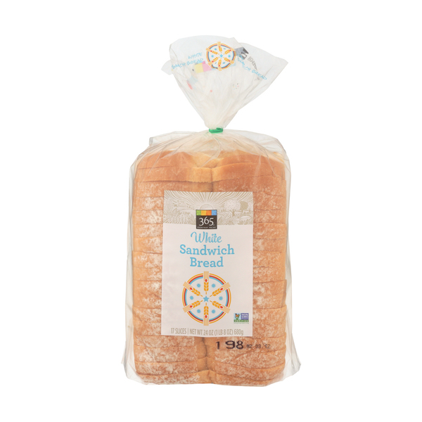 365 everyday value® Classic White Bread, 17 EACH