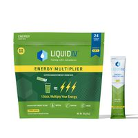 Liquid i.v. Energy Multiplier Lemon Ginger, 24 ct
