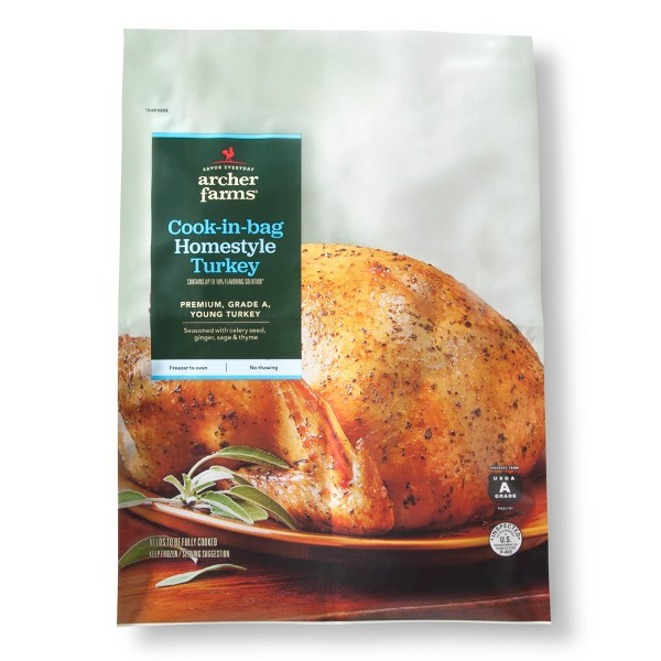 Cook-in-bag Homestyle Turkey - 12lbs - Archer Farms™