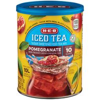 H-E-B Pomegranate Flavor Green Iced Tea Mix