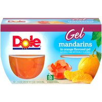 Dole Mandarins, in Orange Gel, Cups