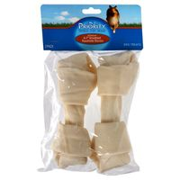 Priority Pet Knotted Rawhide Bones, 6-7 Inch
