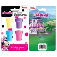 Minnie Mouse Stamp, 4 Count