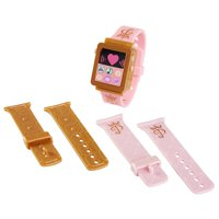 Disney Princess Style Collection Light-up Play Watch includes 3 mix and match bands