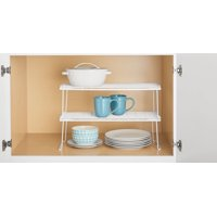 Mainstays Long Stack Shelf, White