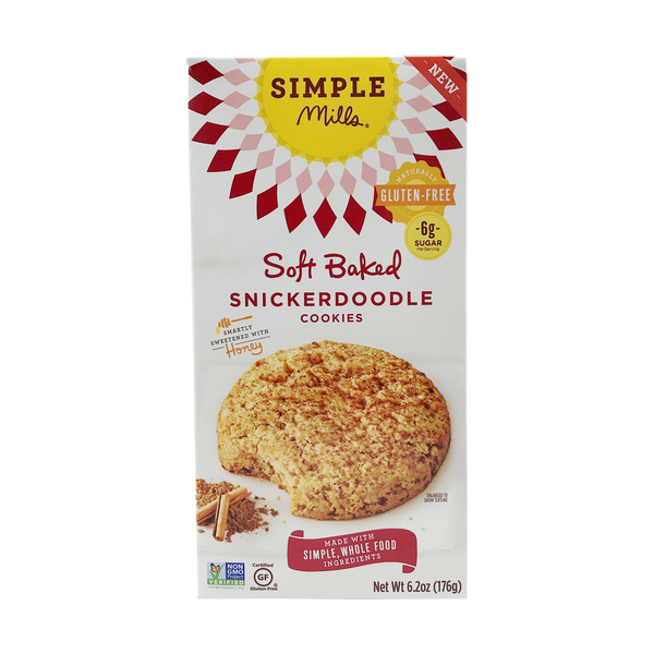 Soft Baked Snickerdoodle Cookie, 6.2 oz