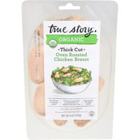 True Story Chicken Breast, Oven Roasted, Thick Cut, Organic, Vacuum Packed