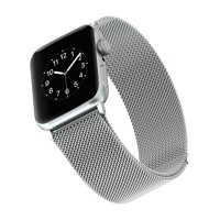 Stainless Steel Mesh Band for 42 & 44MM Apple Watch® - Silver