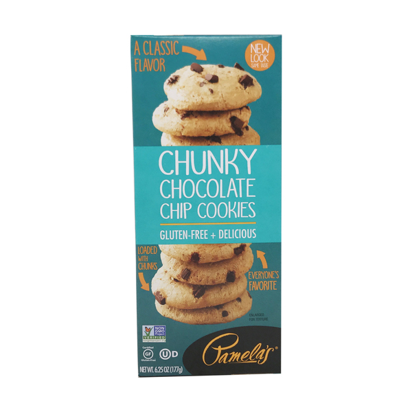 Pamela's products Chunky Chocolate Chip Cookies, 6.25 oz
