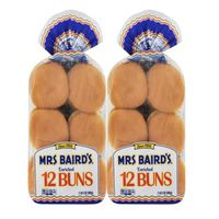 Mrs Baird's Hamburger Buns, 24 ct