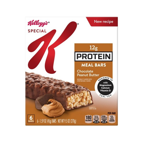 Special K Chocolate Peanut Butter Protein Meal Bar - 6ct - Kellogg's