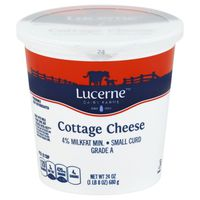 Lucerne Cottage Cheese, Small Curd, 4% Milkfat Min.