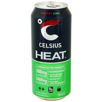 Celsius Heat Cherry Lime Dietary Supplement