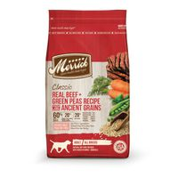 Merrick Real Beef + Green Peas Recipe Natural Dry Food For Dogs