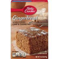Betty Crocker Gingerbread Cake and Cookie Mix, 14.5 oz