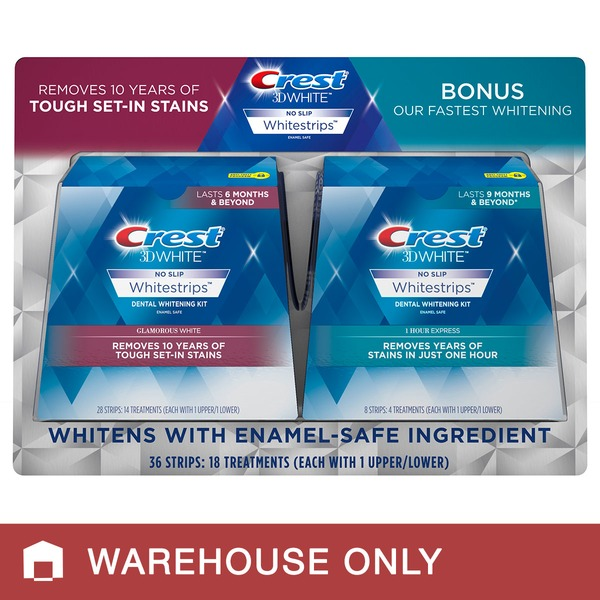 Crest 3d Whitestrips 36 Strips From Costco In Austin Tx Burpy Com