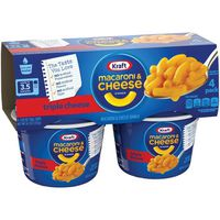 Kraft Easy Mac Triple Cheese Flavor Macaroni & Cheese Dinner