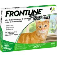Frontline Plus Cats 8 Month Supply, 8 ct