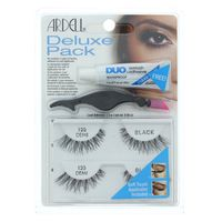 Ardell Deluxe Pack, Lashes, Black, Demi 120