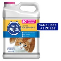 Cats Pride Cat Litter Scoopable, Scented Lightweight Clumping Litter, Flushable (Multiple Sizes)