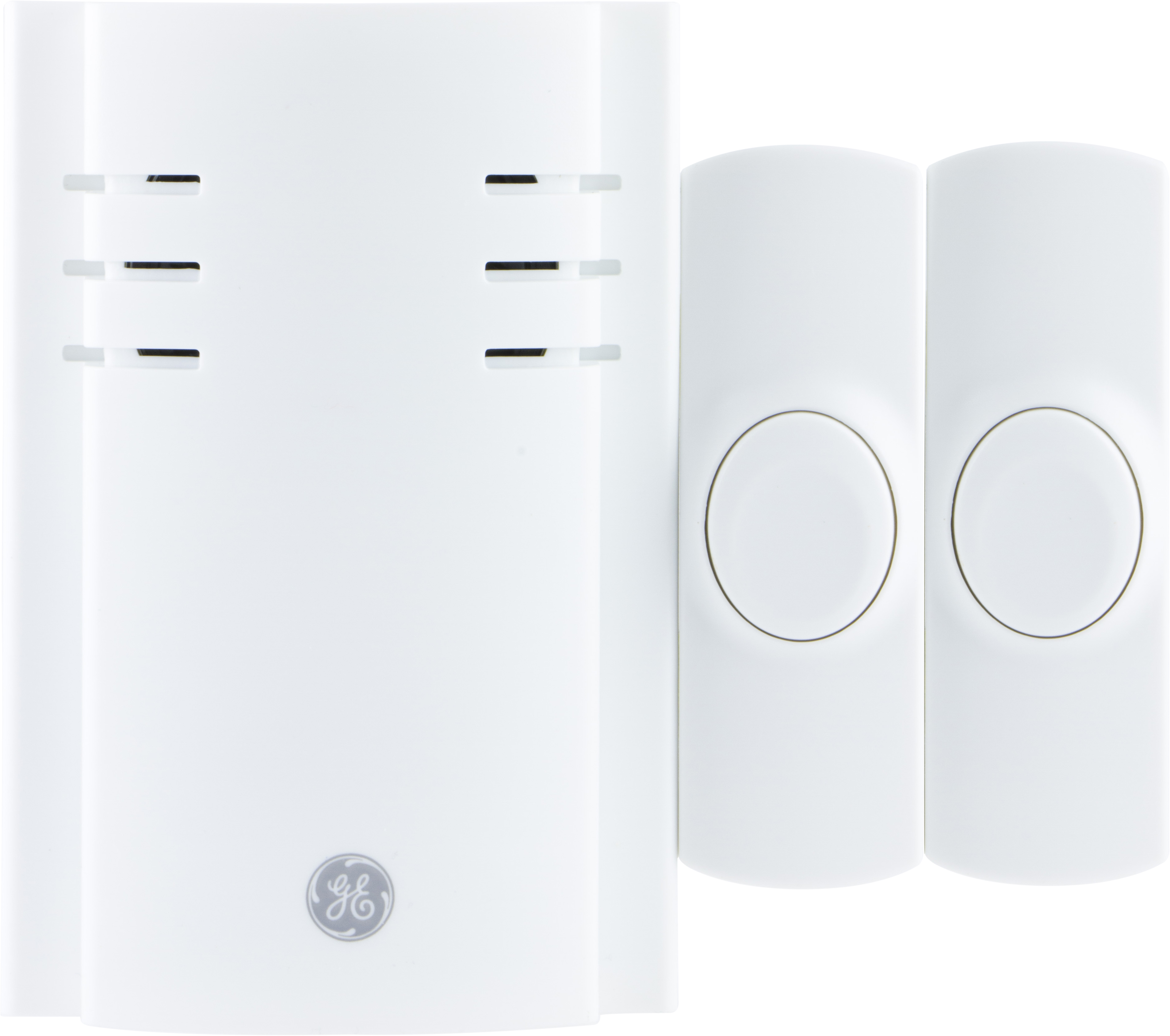 GE Plug In Wireless Door Chime with 2 Buttons, 8 melodies