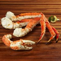 Kirkland Signature Wild Cooked Red King Crab Legs and Claws