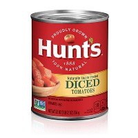 Hunt's 100% Natural Diced Tomatoes - 28oz