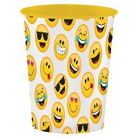 Show Your Emojions Plastic Favor Cup, each